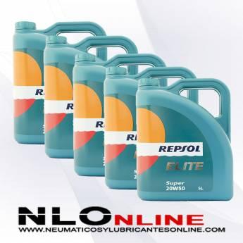 Repsol Elite Super 20W50 5L PACK X5