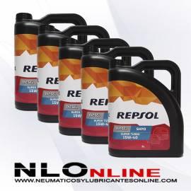 Repsol Elite Diesel Super Turbo 15W40 SHPD 5L OFERTA X5