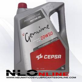 Cepsa Genuine 20W50 5L - 18.50 €