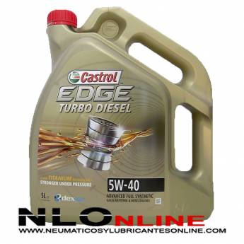 Castrol Edge TITANIUM T.D. 5W40 5L - 33.95 €