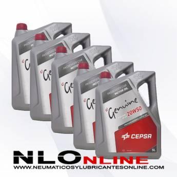 Cepsa Genuine 20W50 5L PACK X5