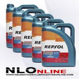 Repsol Elite TDI 15W40 5L OFERTA X5