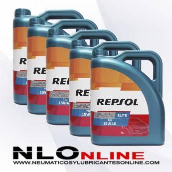 Repsol Elite TDI 15W40 5L PACK X5