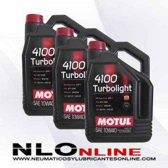 Motul 4100 Turbolight 10W40 A3/B4 5L PACK X3 - 63.00 €