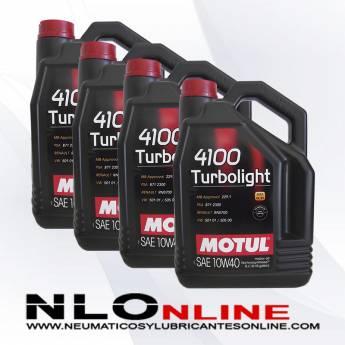 Motul 4100 Turbolight 10W40 A3/B4 5L PACK X4 - 80.00 €