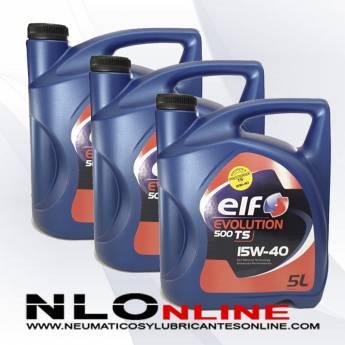 Elf Evolution 500 TS 15W40 5L PACK X3 - 55.50 €