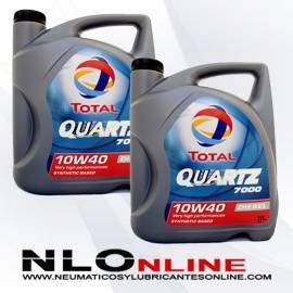 Total Quartz 7000 Diesel 10W40  A3-B4 5L OFERTA X2