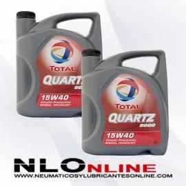 Total Quartz 5000 15W40 Diesel 5L OFERTA X2