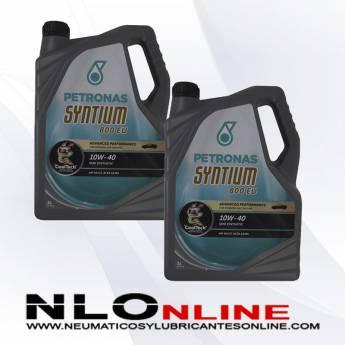 Petronas Syntium 800 EU 10W40 5L PACK X2 - 37.00 €