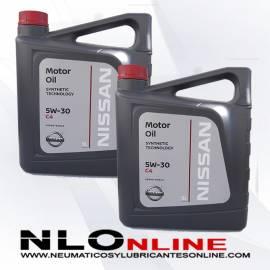 Nissan Motor Oil 5W30 C4 5L OFERTA X2