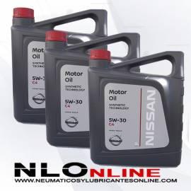 Nissan Motor Oil 5W30 C4 5L OFERTA X3