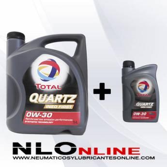 Total Quartz Ineo First 0W30 OFERTA 5L + 1L