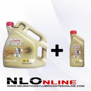 Castrol Edge 5W30 LL PACK 4L+1L