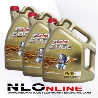 Castrol Edge 5W30 LL 5L PACK X3 - 112.50 €