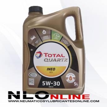 Total Quartz Ineo ECS 5W30 5L - 26.50 €