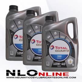 Total Quartz 7000 Energy 10W40 5L OFERTA X3