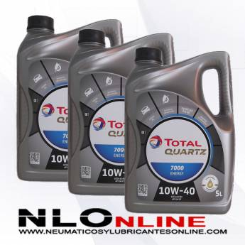 Total Quartz 7000 Energy 10W40 5L PACK X3 - 60.00 €