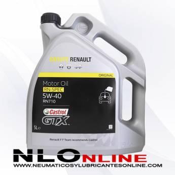 CASTROL GTX RN-SPEC 5W40 RN710 5L - 28.95 €