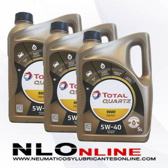 Total Quartz 9000 Energy 5W40 5L PACK X3 - 60.00 €