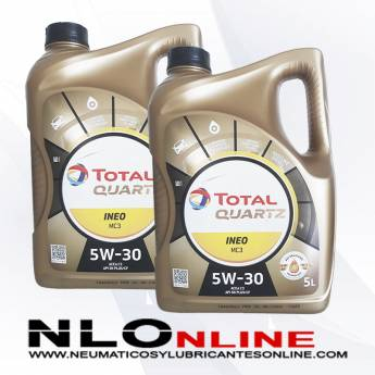 Total Quartz Ineo MC3 5W30 5L PACK X2 - 55.00 €