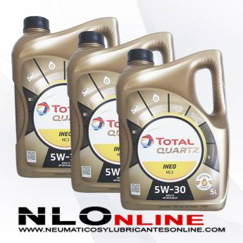 Total Quartz Ineo MC3 5W30 5L PACK X3