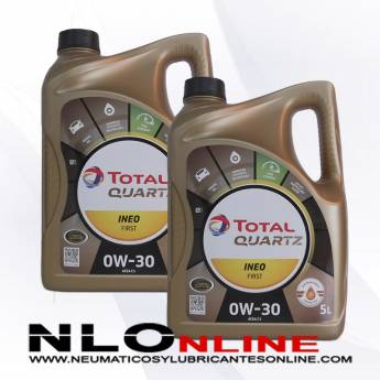 Total Quartz Ineo First 0W30 5L PACK X2