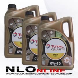 Total Quartz Ineo First 0W30 5L PACK X3