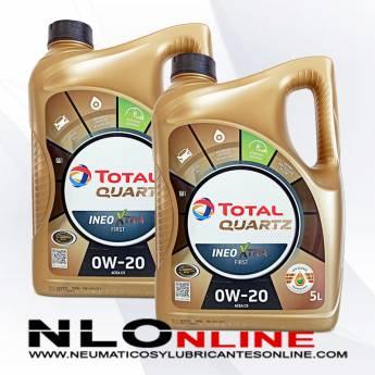Total Quartz Ineo Xtra First 0W20 5L PACK X2 - 80.00 €