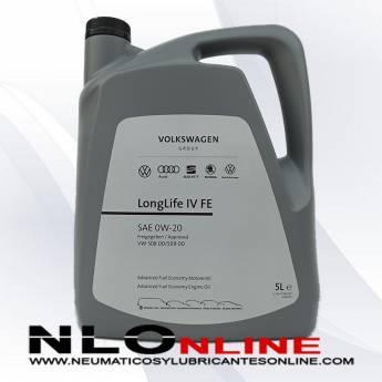 VW Original Longlife IV FE 0W20 5L - 42.50 €