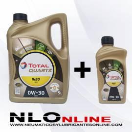 Total Quartz Ineo First 0W30 PACK 5L+1L