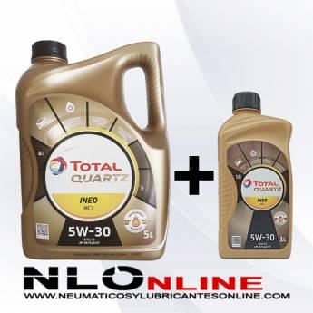Total Quartz Ineo MC3 5W30 PACK 5L + 1L