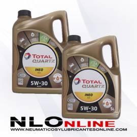 Total Quartz Ineo ECS 5W30 5L PACK X2