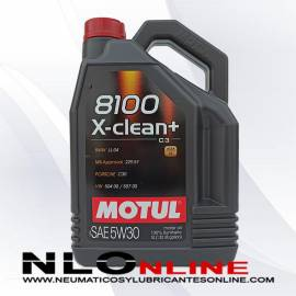 Motul 8100 X-Clean+ 5W30 5L - 29.50 €