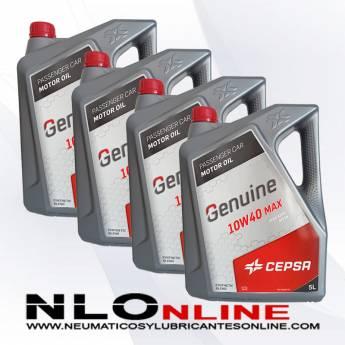Cepsa Genuine 10W40 MAX 5L PACK X4 - 75.00 €