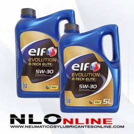 Elf Evolution R-Tech Elite 5W30 RN17 5L PACK X2 - 49.00 €