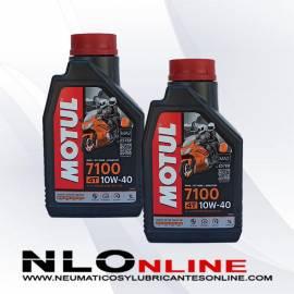 Motul Moto 4T 10W40 1L PACK X2