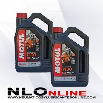 Motul Moto 7100 4T 10W40 4L PACK X2 - 59.00 €