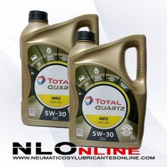 Total Quartz Ineo Long Life 5W30 5L PACK X2 - 59.50 €