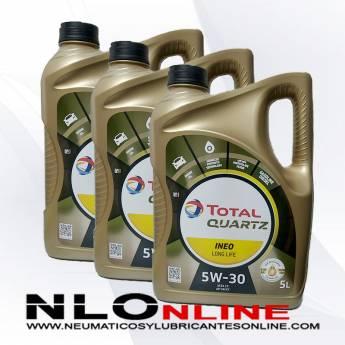 Total Quartz Ineo Long Life 5W30 5L PACK X3 - 87.00 €