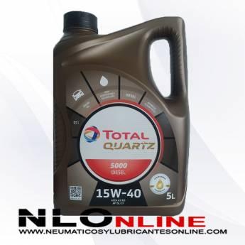 Total Quartz 5000 Diesel 15W40 5L - 19.50 €