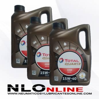 Total Quartz 5000 Diesel 15W40 5L PACK X3 - 60.00 €