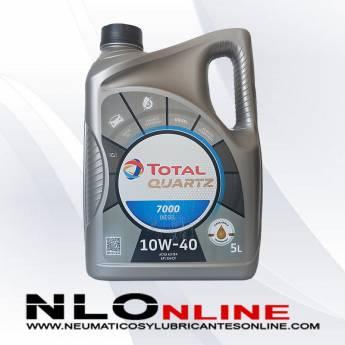 Total Quartz 7000 10W40 Diesel 5L - 20.50 €