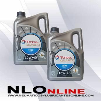 Total Quartz 7000 10W40 Diesel 5L PACK X2 - 42.00 €