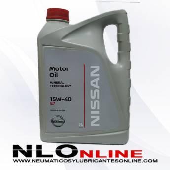 Nissan Motor Oil 15W40 E7 - 22.95 €