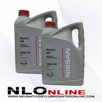 Nissan Motor Oil 15W40 E7 5L PACK X2 - 45.00 €