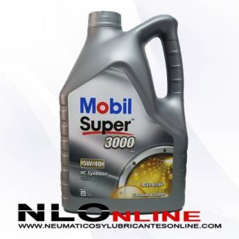 Mobil Super 3000 X1 5W40 5L - 27.95 €