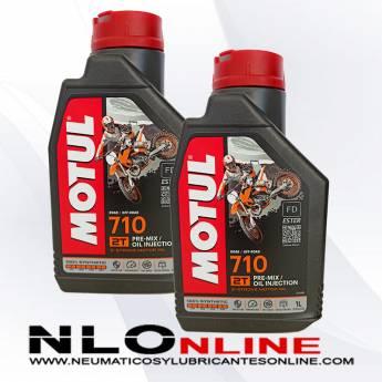 Motul 710 2T 1L PACK X2 - 19.90 €