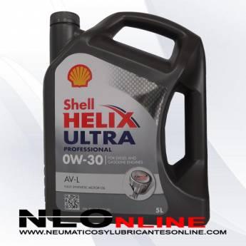 Shell Helix Ultra Professional 0W30 AV-L 5L - 33.95 €