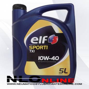 Elf Sporti TXI 10W40 5L - 19.50 €