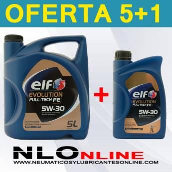 Elf Evolution Full-Tech FE 5W30 (5L + 1L) - 33.15 €